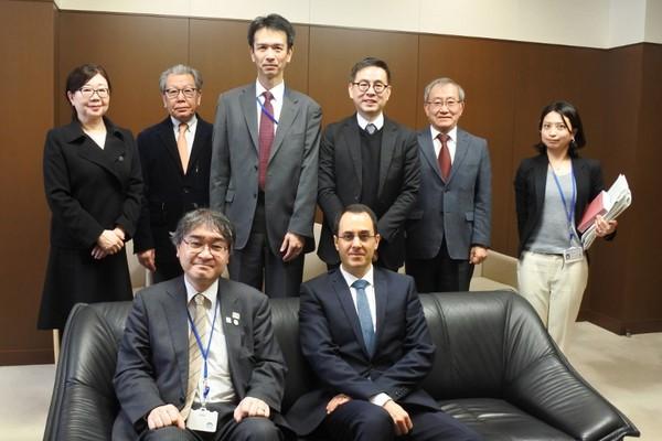 La CISAC y la JASRAC se re?nen con la Agencia japonesa de Asuntos Culturales. Foto ?: CISAC