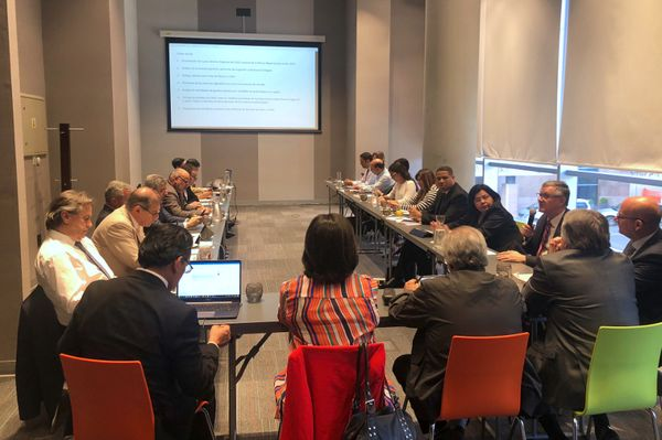 Copyright office officials from 10 countries in Latin America gather in Uruguay to review collective management in the region. Photo ?: CISAC