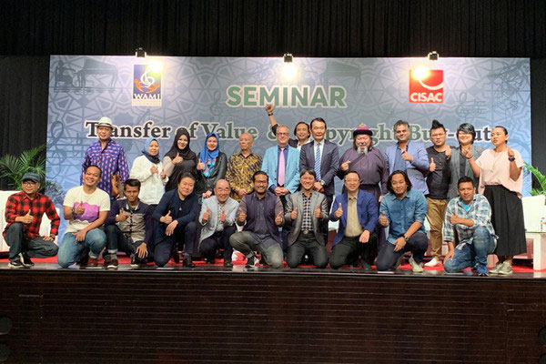 The Creators Seminar in Jakarta highlighted copyright buy-out and transfer of value. Photo ?: CISAC